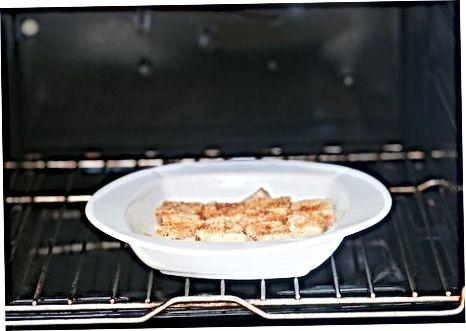 სამზარეულო გამომცხვარი Eggnog ფრანგული სადღეგრძელო