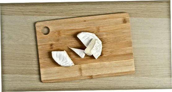 Trajtimi i një rrote ose blloku i Brie