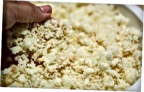 Creació de la barreja de pastissos
