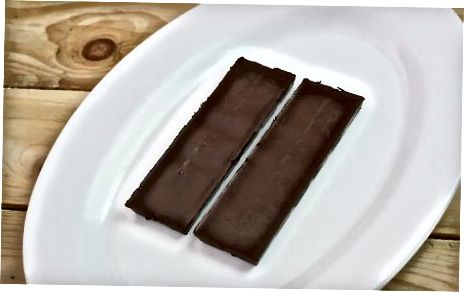 Barras de chocolate caseiras