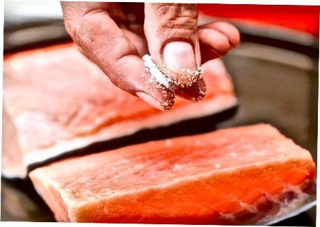 Marrja e Salmonit të Marinuar