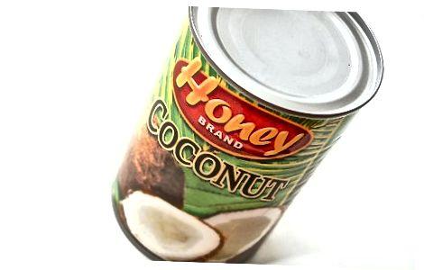 Kokosroom en kokoswater