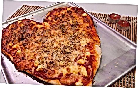 Prófaðu mismunandi tegundir af pizzu