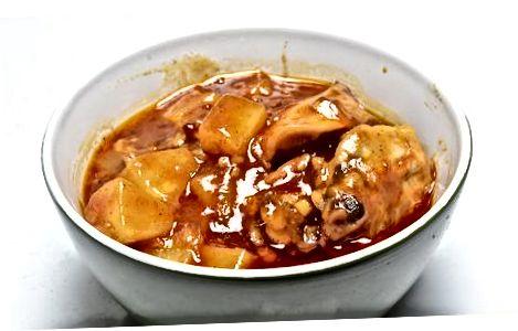 Pomidor sosidan Pininyahang Manok tayyorlash