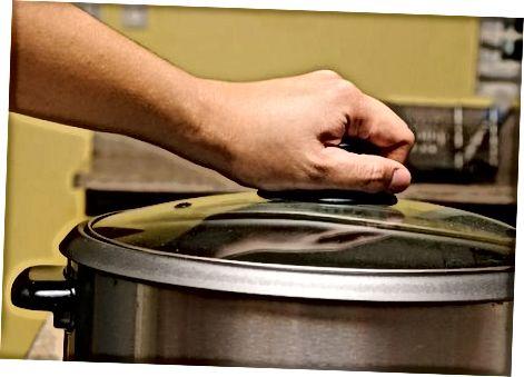 Использование медленной плиты