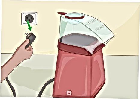 تمیز کردن دستگاه پاپ کورن هوای گرم