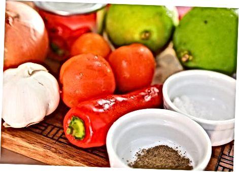 Jalapeño i salsa de calç