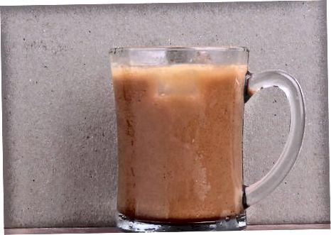 Blanda cappuccino med is