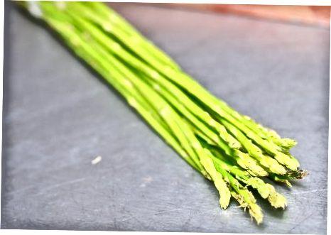 Përgatitja e asparagusit