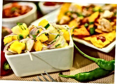Salsa de fruites tropicals