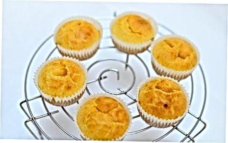 დამზადება Cupcakes