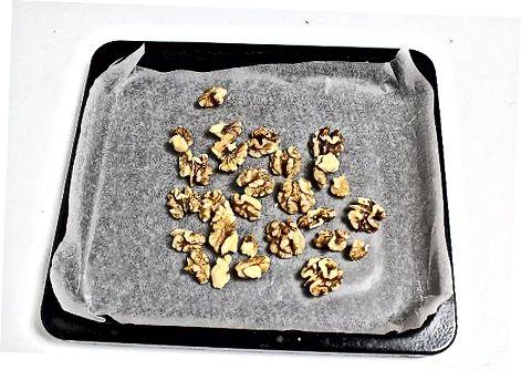 Суви печење ораха у рерни