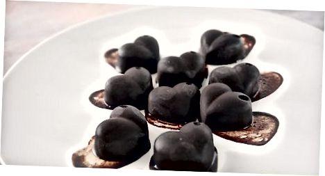 制作黑巧克力棒