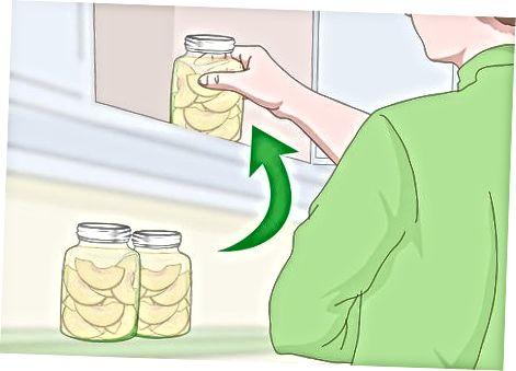 Predelava in shranjevanje konzerviranega sirupa
