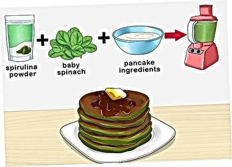 Поклавши водорості у сніданок