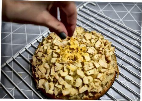 Namlangan va ravon olma keki