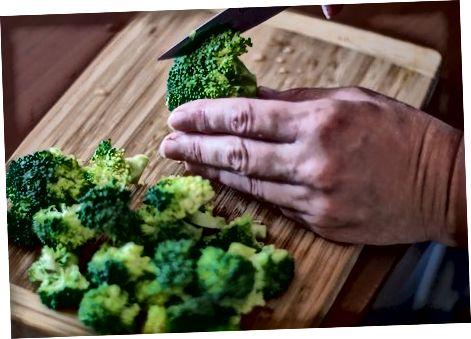Brokkoli tayyorlash