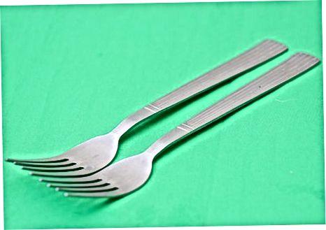 Duke përdorur Forks