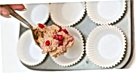 Sog'lom Cranberry Eggnog Muffins