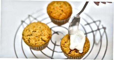 Muffinlarni bezash