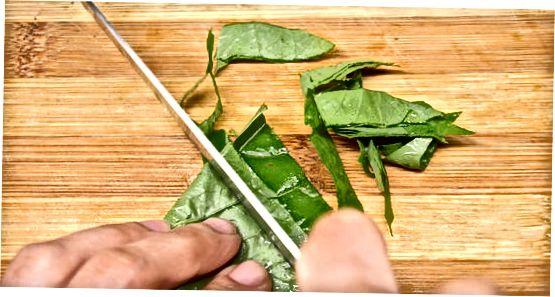 Припрема шпината