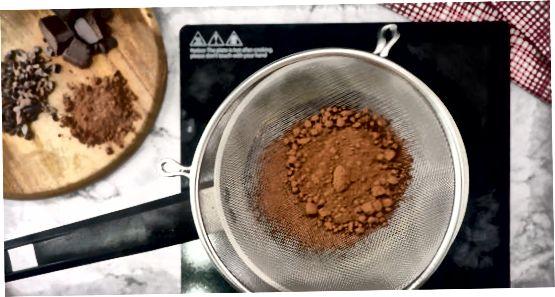Kakao kukuni va kokos moyidan foydalanish