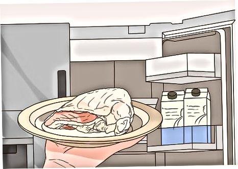 Користећи исјецкану пилетину