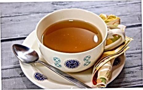 Hinzufügen von Dingen zu Ihrem Tee