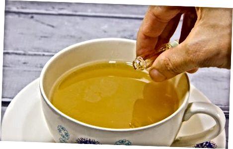 Einen Earl Grey Latte machen