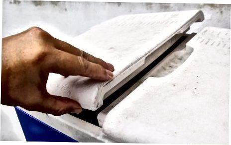 Duke përdorur akull të rregullt