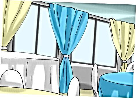 Wände und Tische dekorieren