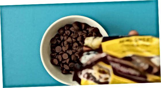 Shokoladni eritish va tushirish