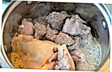 Matlaging kjøttet