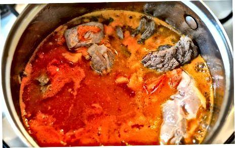 Simmer suppen