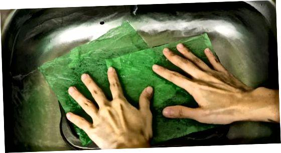 Plekkpannide leotamine kuivatiga