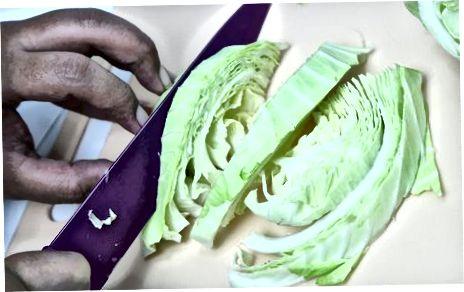 Приготування капусти