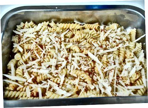 Приготування основних макаронів та сиру