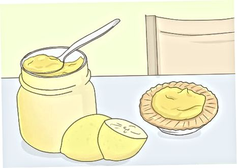 Utilitzant els rovells d'ou