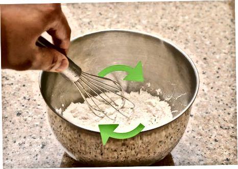 빵 껍질 만들기