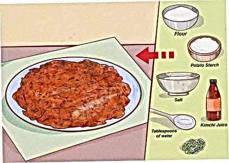 Shërbyer Kimchi me Mëngjesin