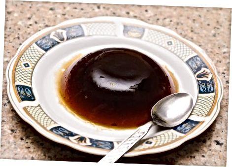 Ikkinchi usul: Yaponiyadagi kofe jele (muqobil retsept)