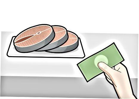 Izberite losos po rezu