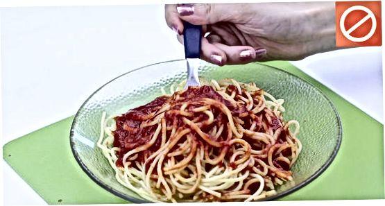 Ushqimi i Spageteve si një Italian i Vërtetë
