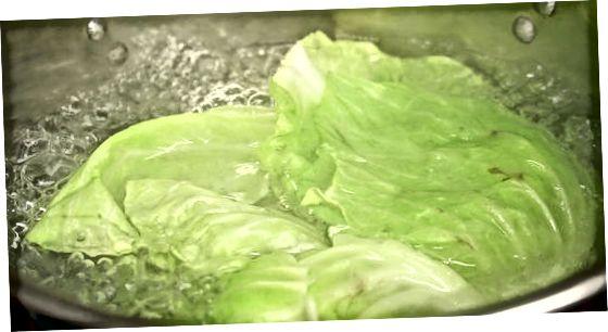Zmehčajo listi zelja