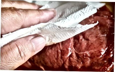Seared Rump biftek qilish