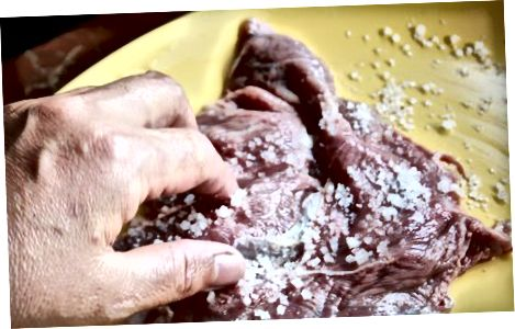 Pishirilgan pirog biftekini tayyorlash