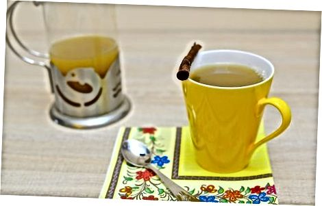 Raspberry Leaf kofeinsiz Chai Latte