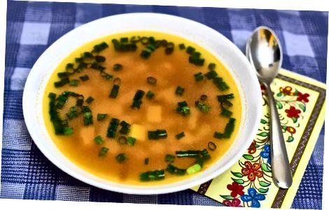 Paruošimas sriubai