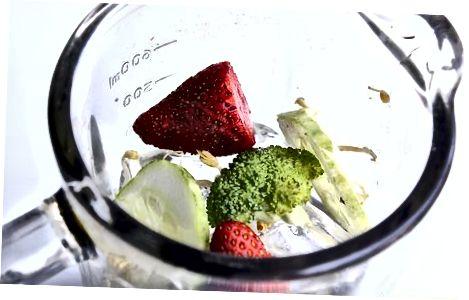 Brokkoli novdasini smoothie qilish