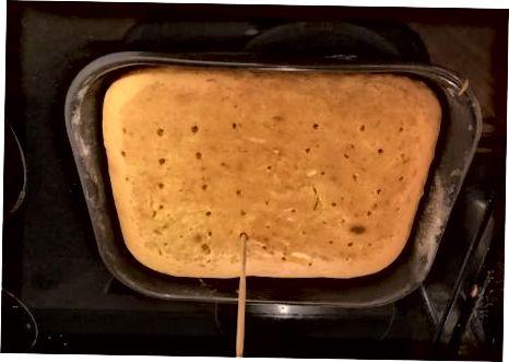 De taart maken